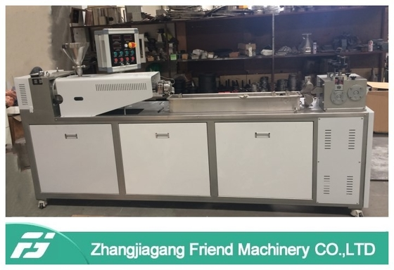 Eco Friendly Plastic Granules Making Machine / PP PE ABS Masterbatch Production Line