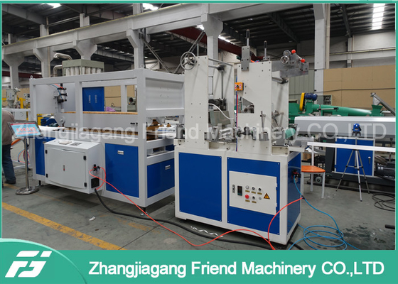 200-600mm Pvc Ceiling Panel Extrusion Machine For Sheet Double Screw Design
