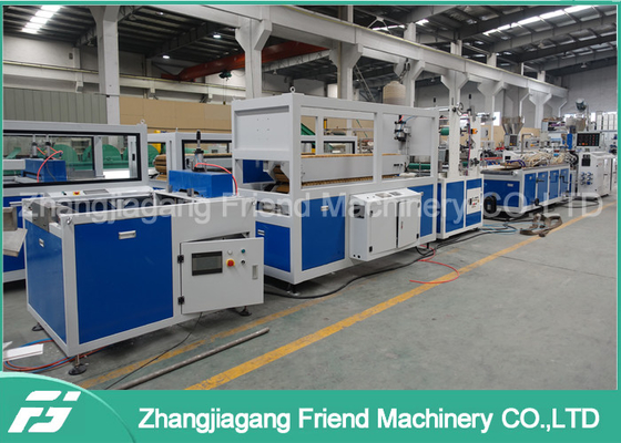 High Accuracy Control System Pvc Ceiling Panel Production Line Quick Maintenance