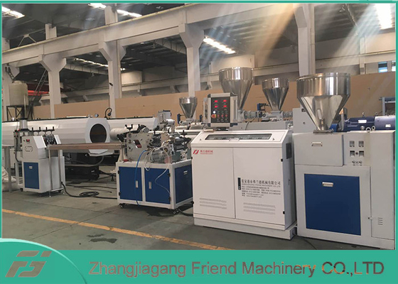 Professional PVC Sheet Extrusion Line , 80mm Width White PVC Sheet Extruder