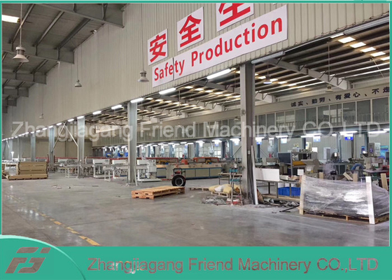 380V 50HZ WPC Board Production Line Wpc Extrusion Machine High Efficient