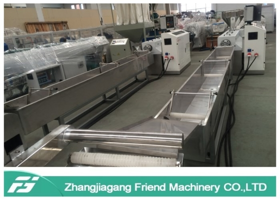 Single Screw Extruder Plastic Recycling Granulator Machine 150kg/H Capacity