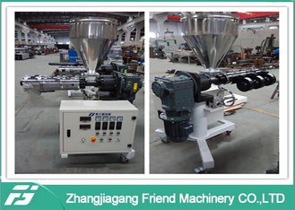 Color Marking SJ25/28 Single Plastic Extruder Machine With ABB Inverter
