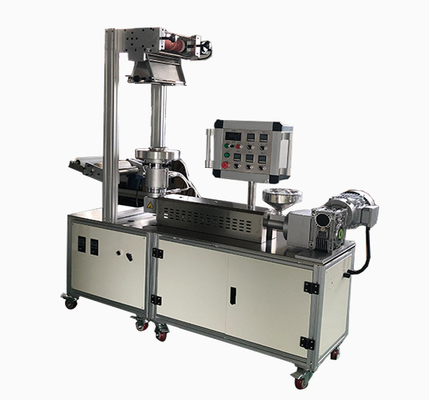 PP PE Plastic Film Extruder And Bolowing Machine , Mini Film Blowing Machine